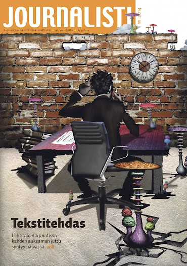 Journalistin kansi 11/2014