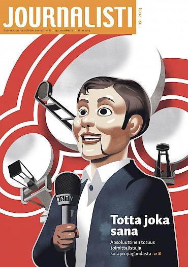 Journalistin kansi 12/2014