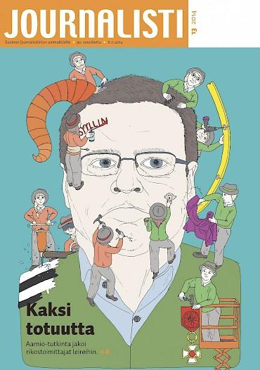 Journalistin kansi 13/2014