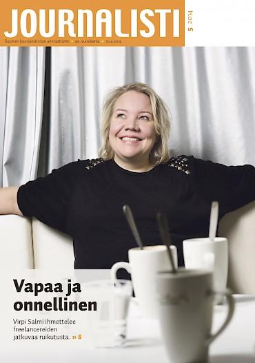 Journalistin kansi 5/2014