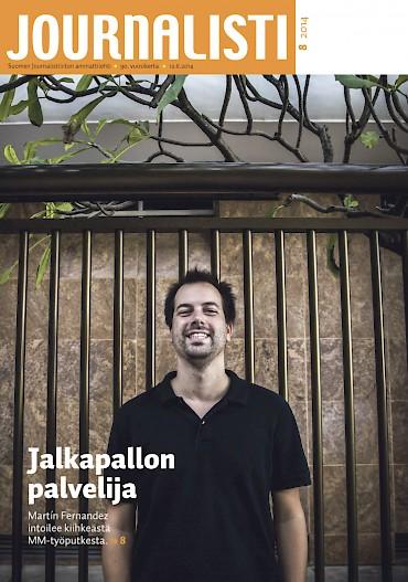 Journalistin kansi 8/2014
