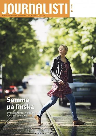 Journalistin kansi 9/2014