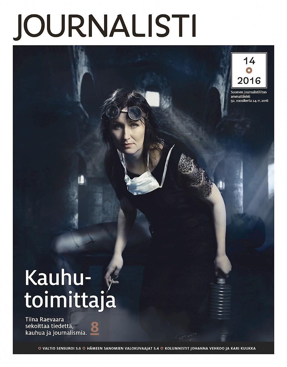 Journalistin kansi 14/2016