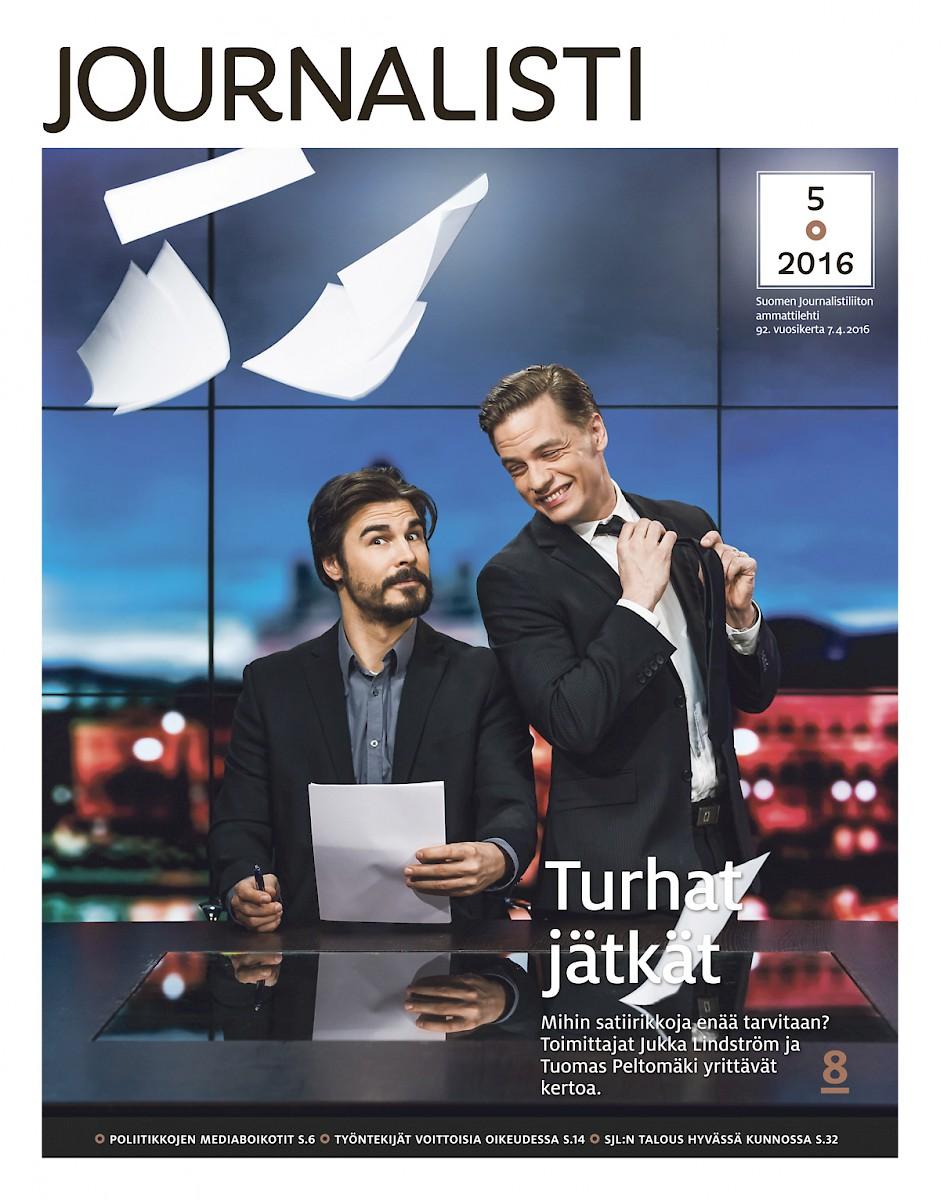 Journalistin kansi 5/2016