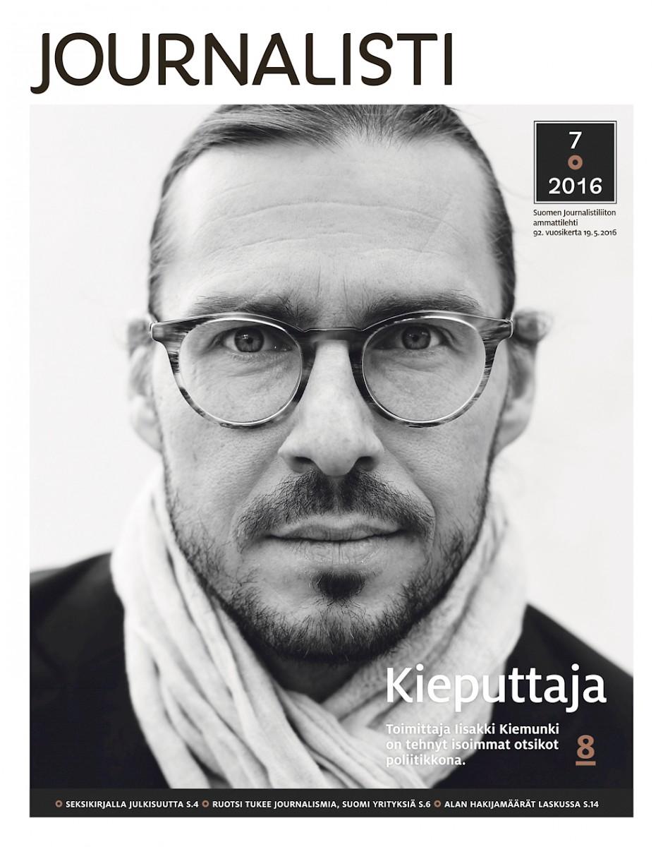 Journalistin kansi 7/2016