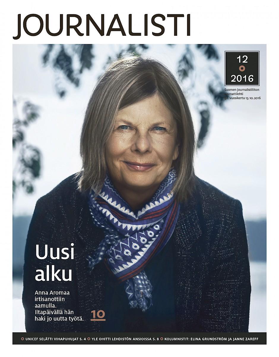 Journalistin kansi 12/2016
