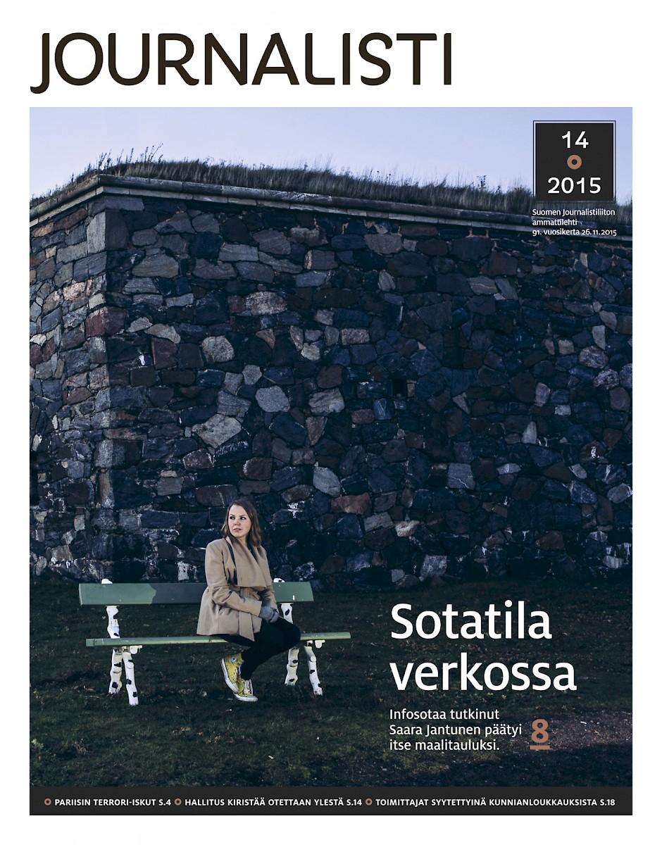 Journalistin kansi 14/2015