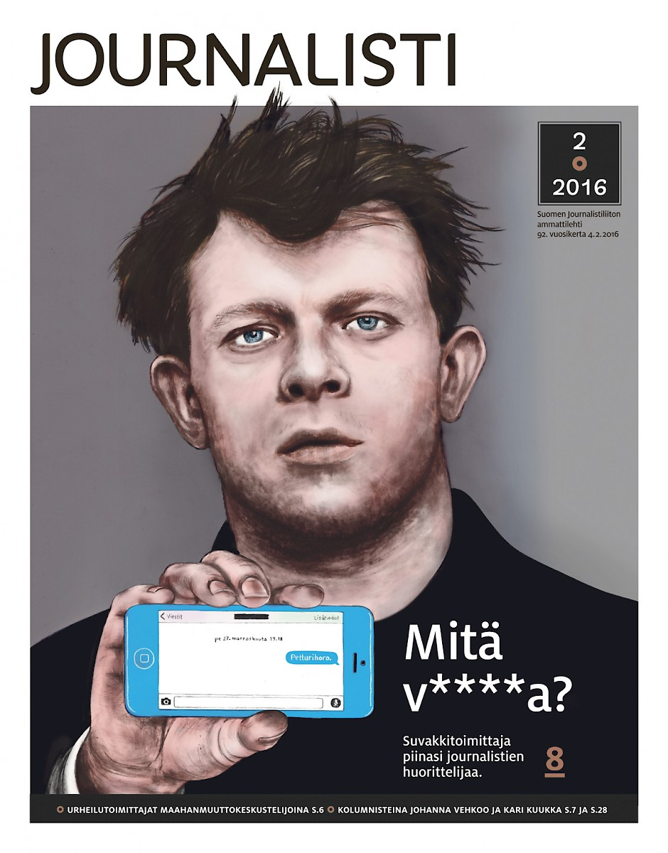 Journalisti kansi 2/2016