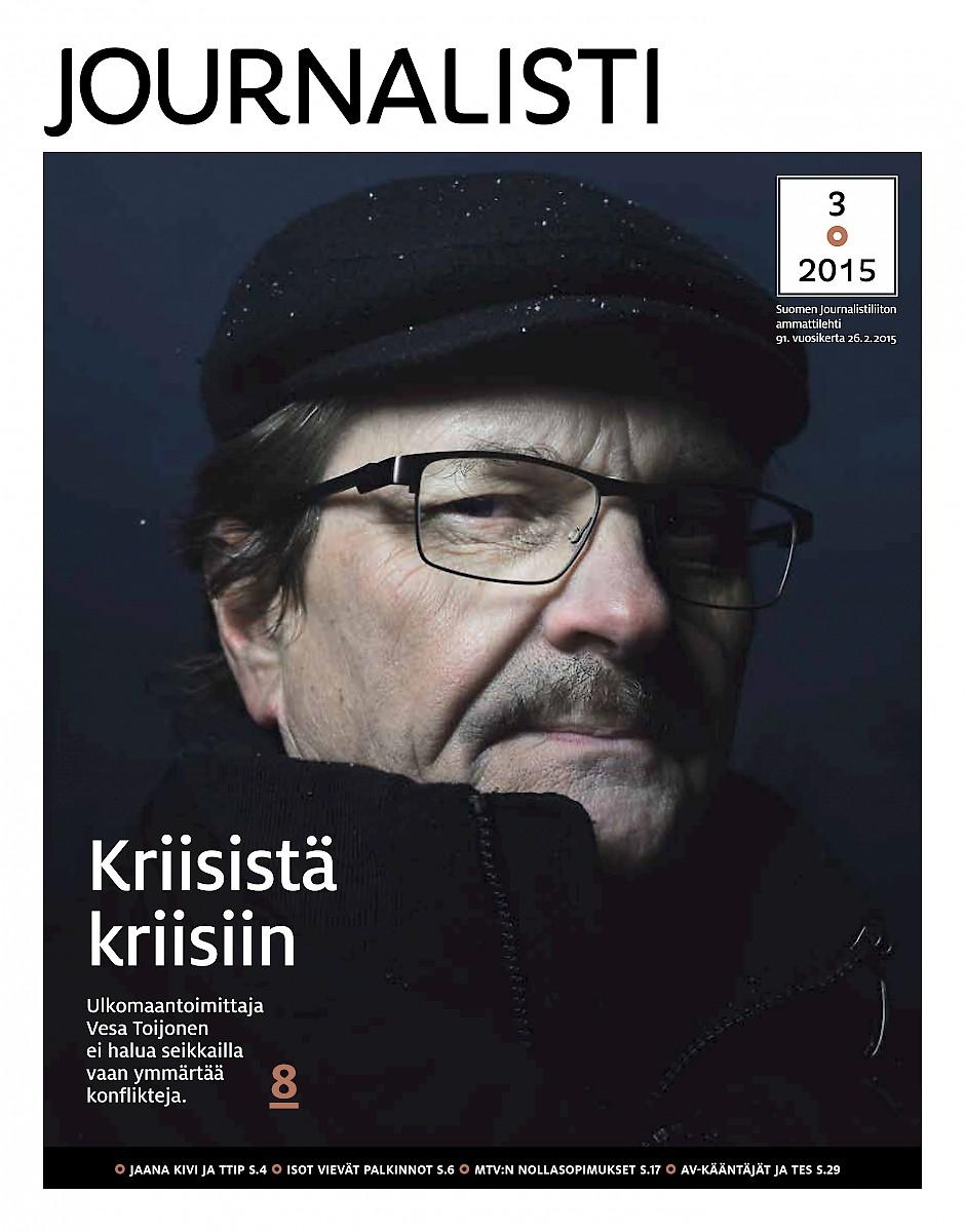 Journalisti kansi 3/2015