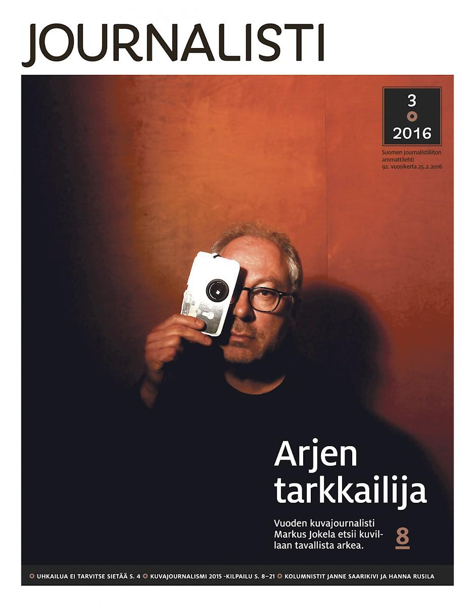 Journalistin kansi 3/2016