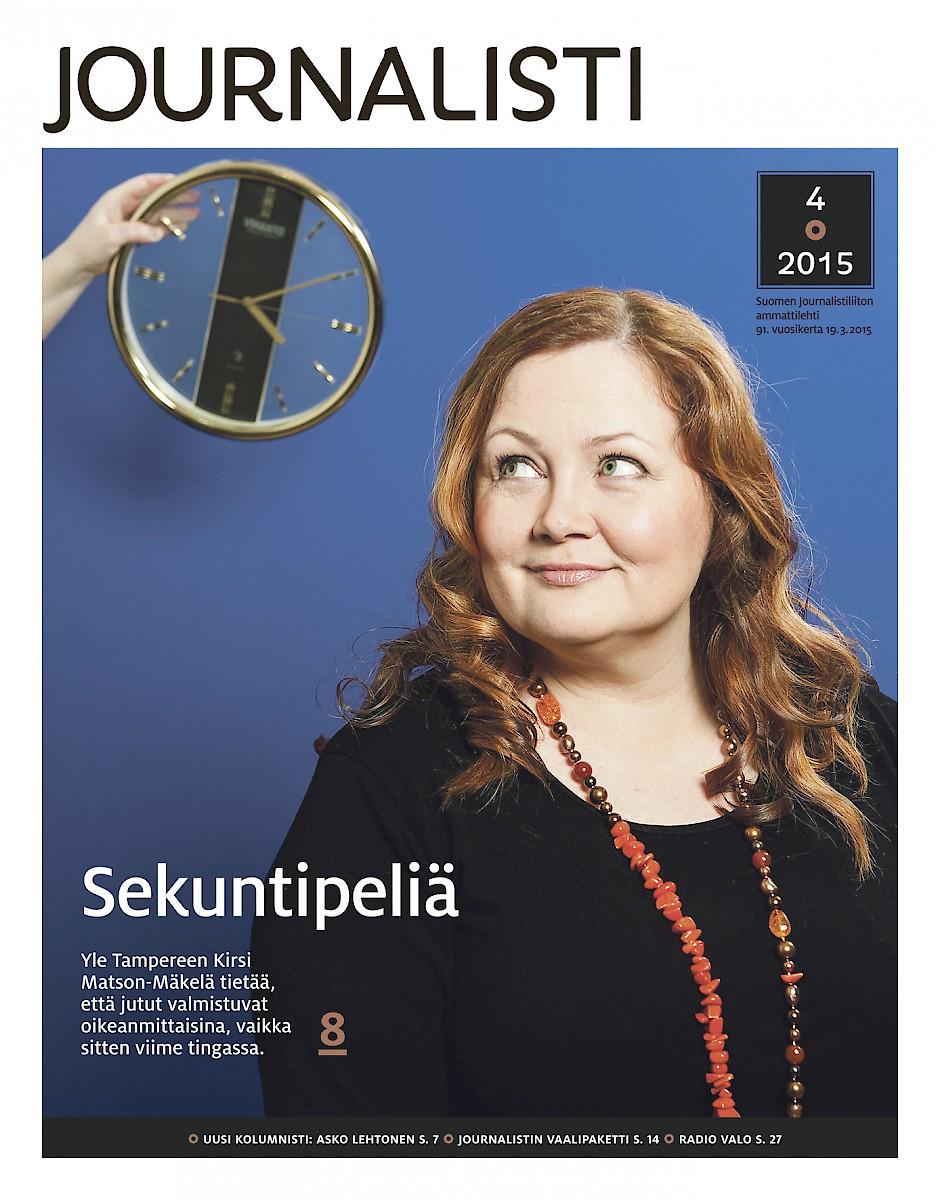 Journalisti kansi 4/2015