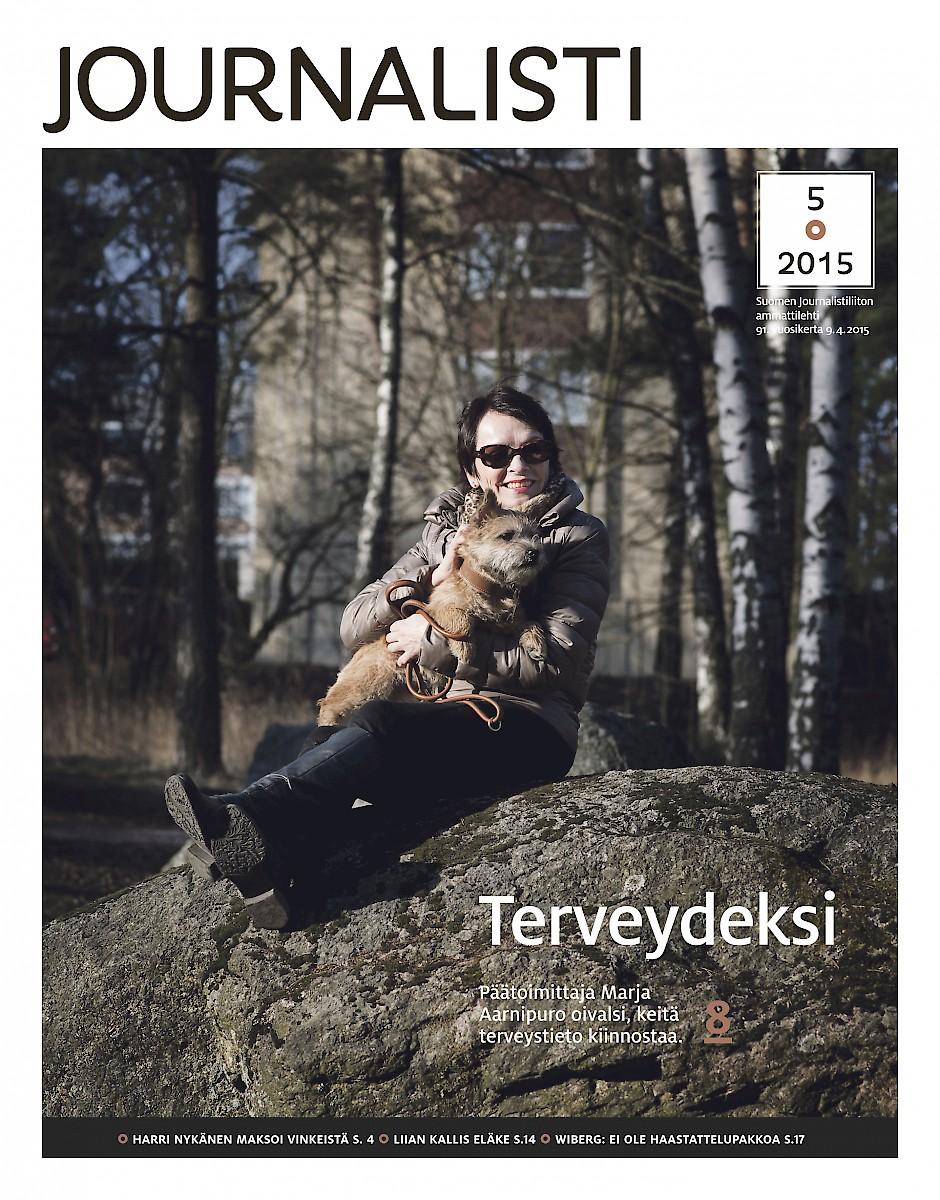 Journalisti kansi 5/2015