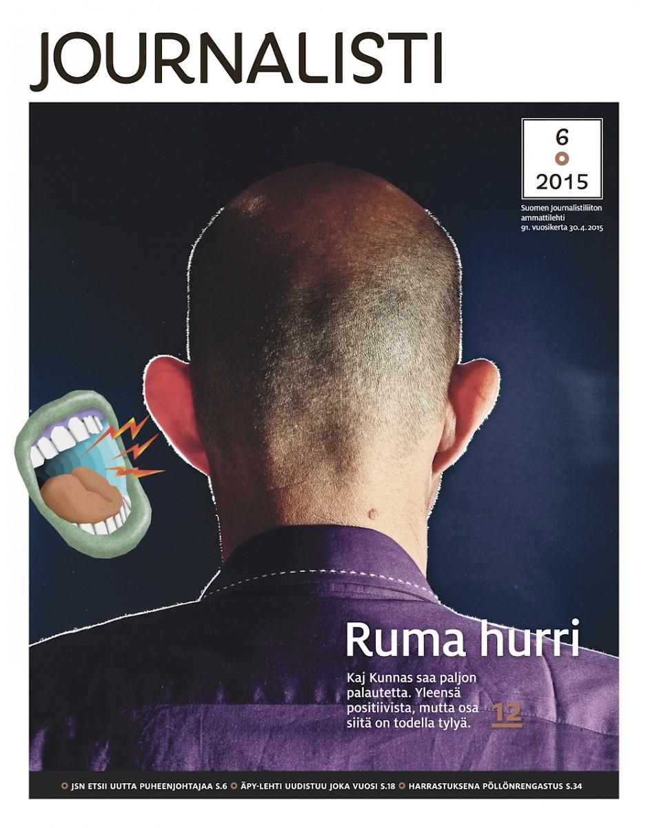 Journalisti kansi 6/2015