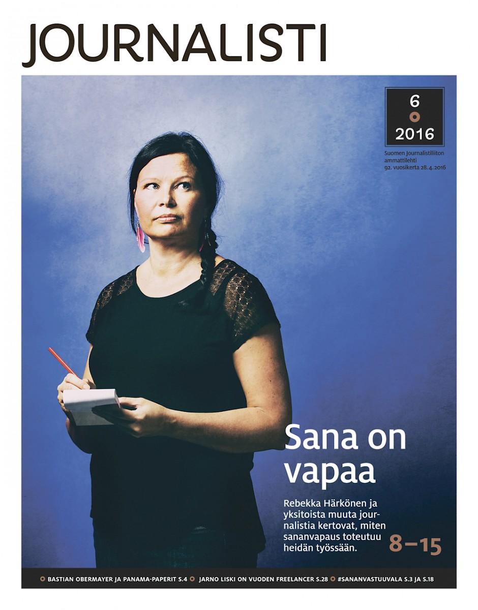 Journalistin kansi 6/2016