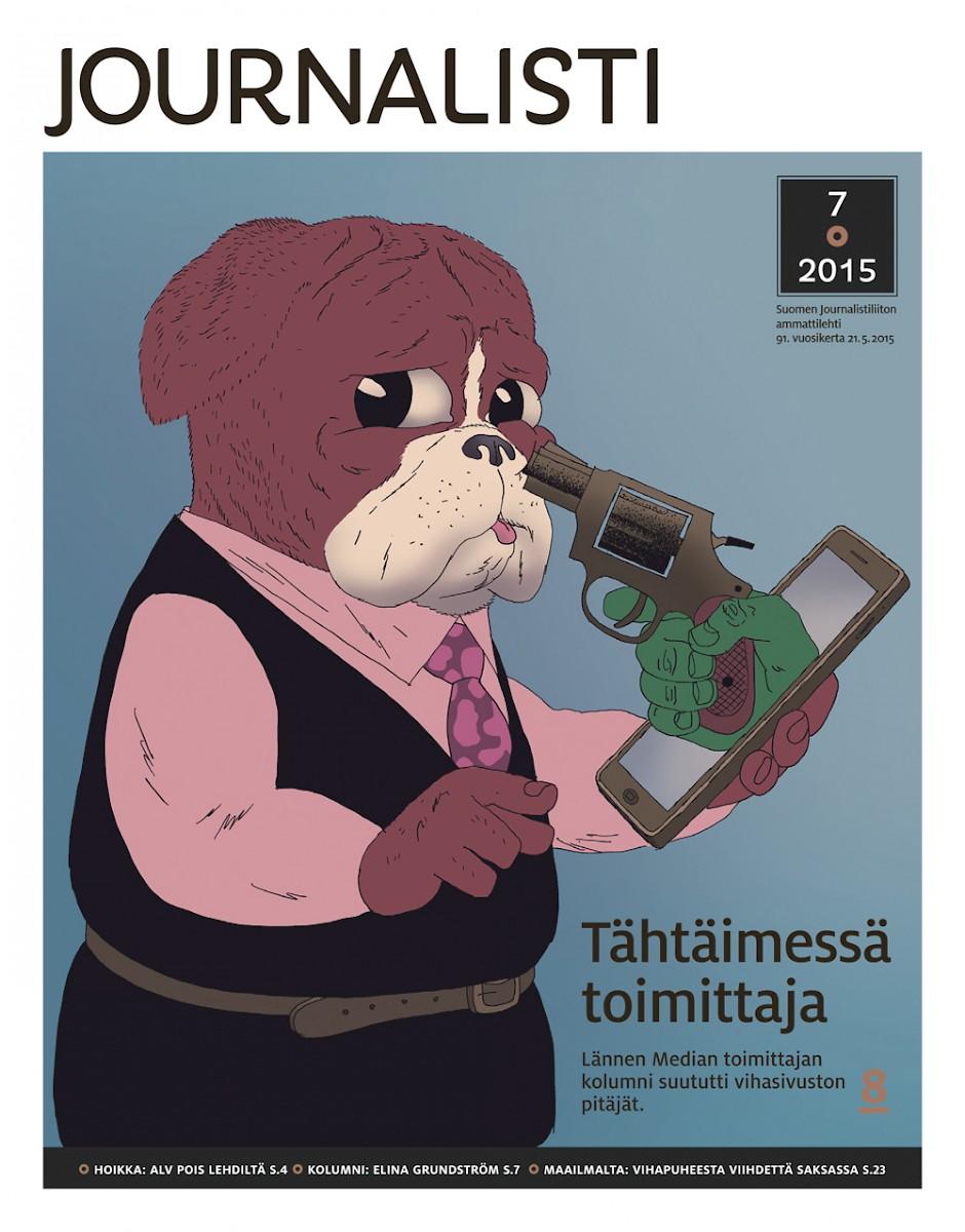 Journalisti kansi 7/2015