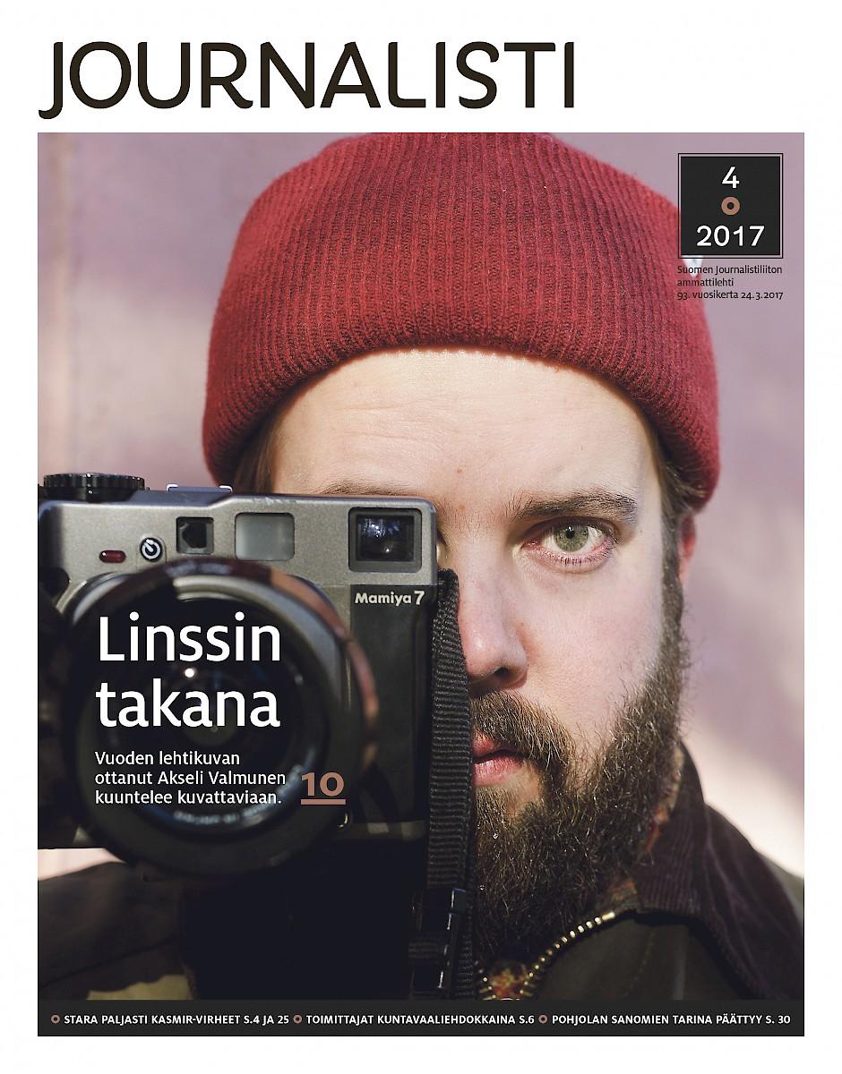 Journalistin kansi 4/2017