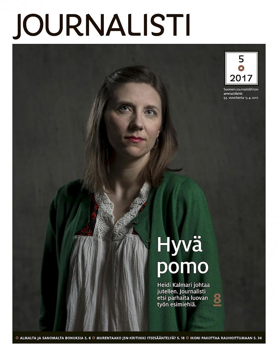 Journalistin kansi 5/2017