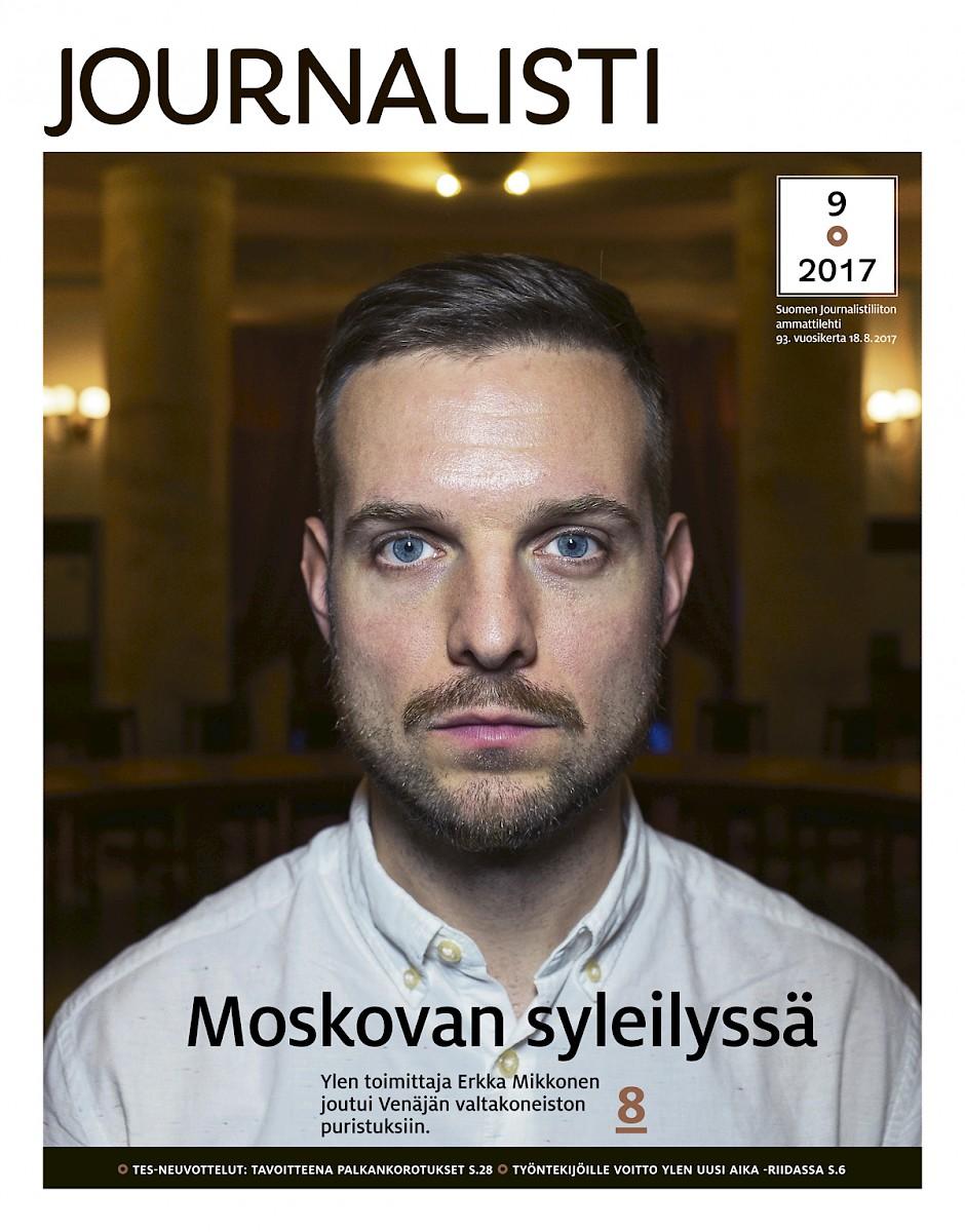 Journalistin kansi 9/2017