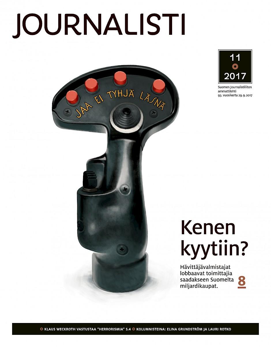 Journalistin kansi 11/2017