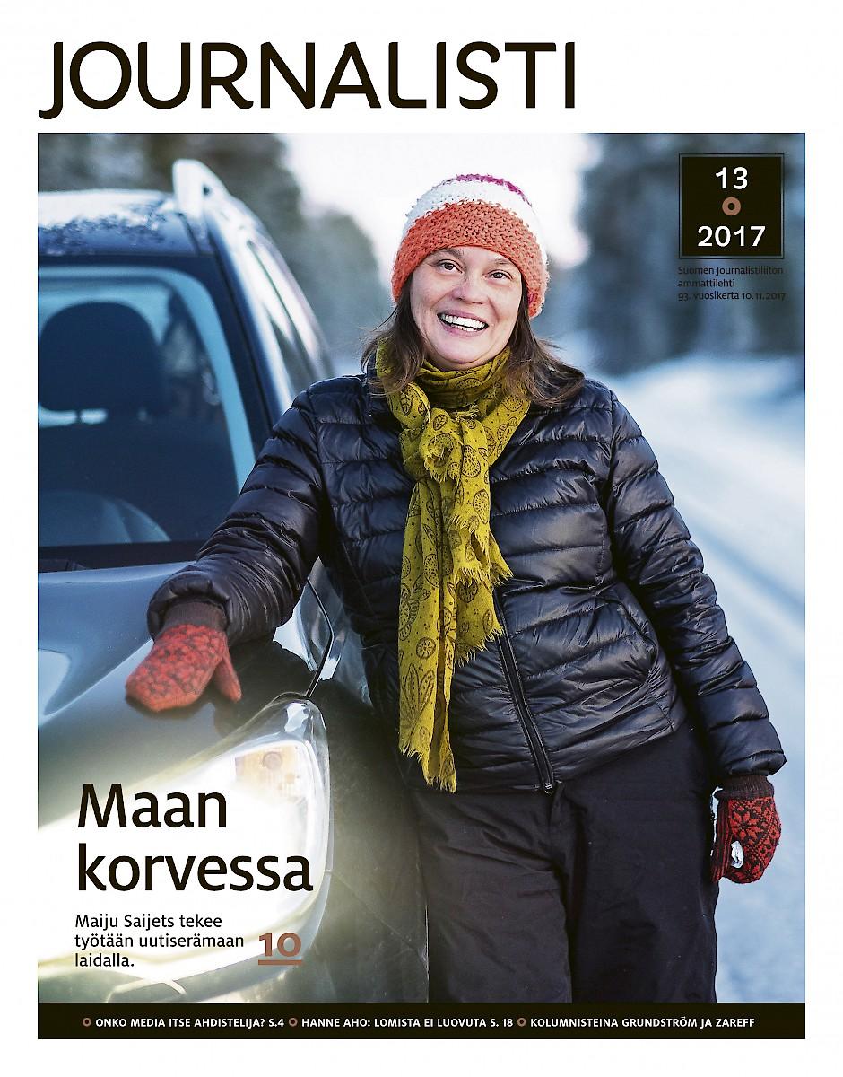 Journalistin kansi 13/2017