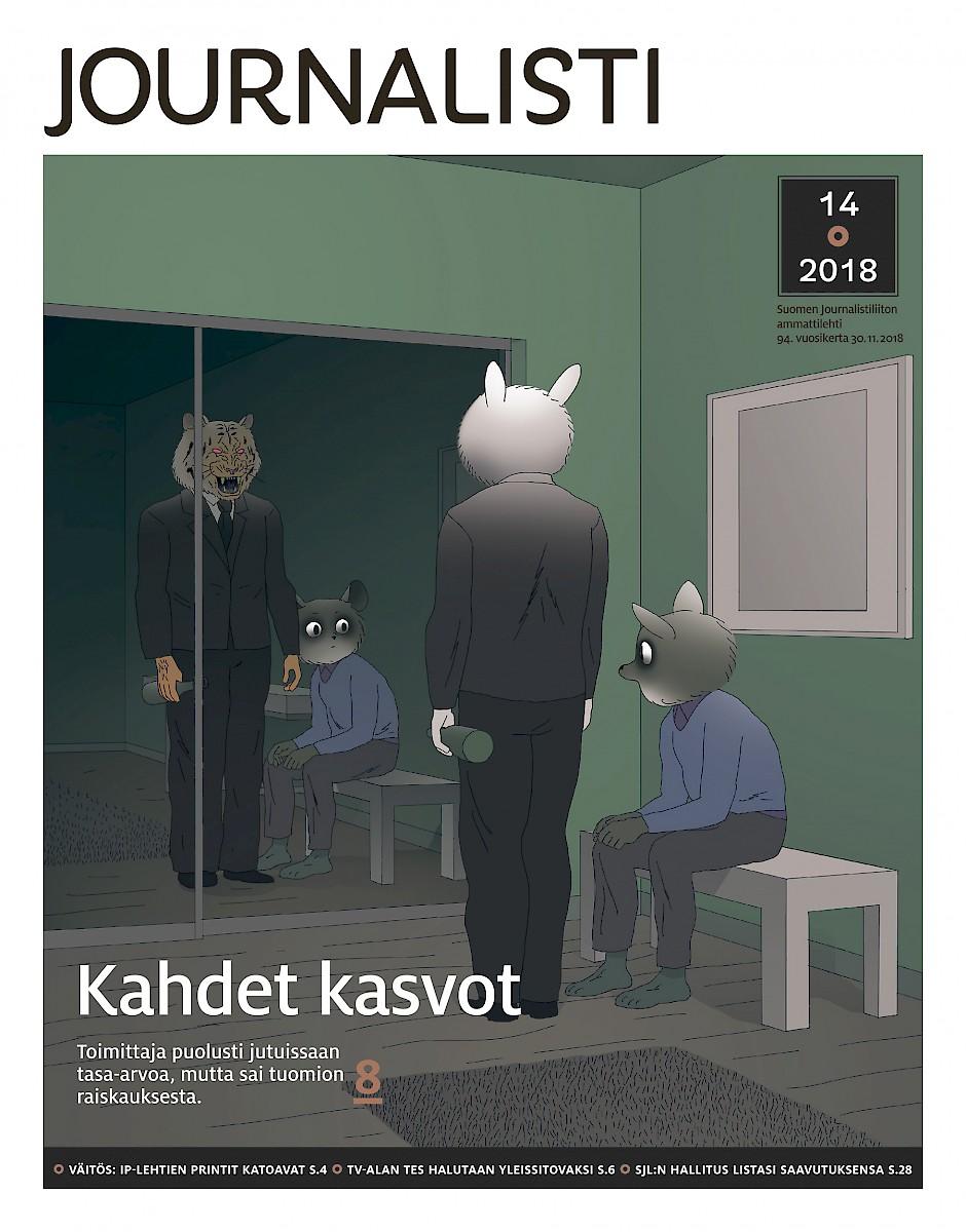 Journalisti 14/2018 kansi