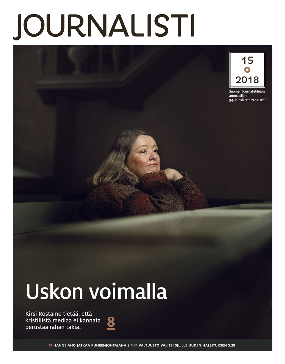 Journalisti 15/2018 kansi
