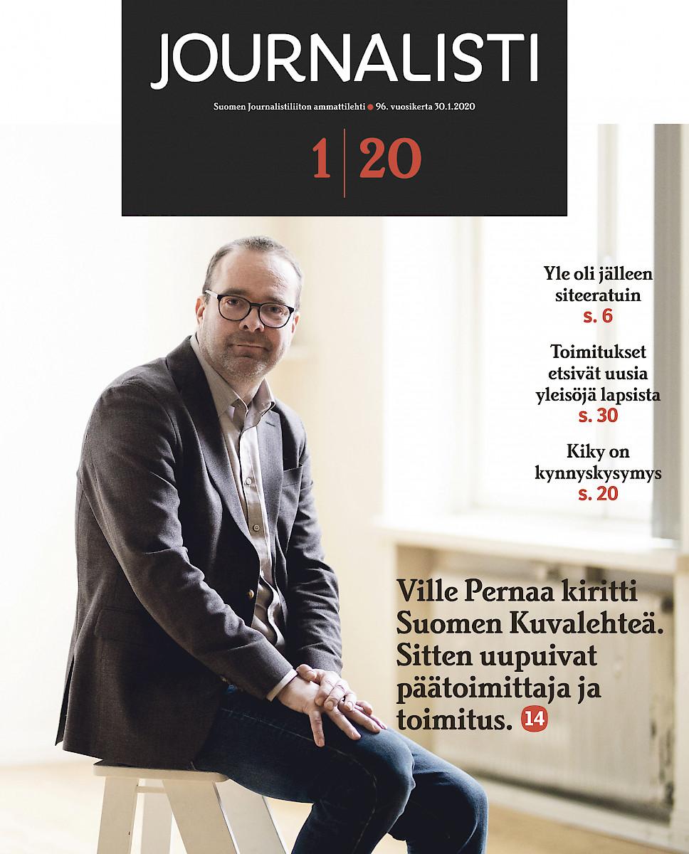 Journalisti 1/2020 kansi