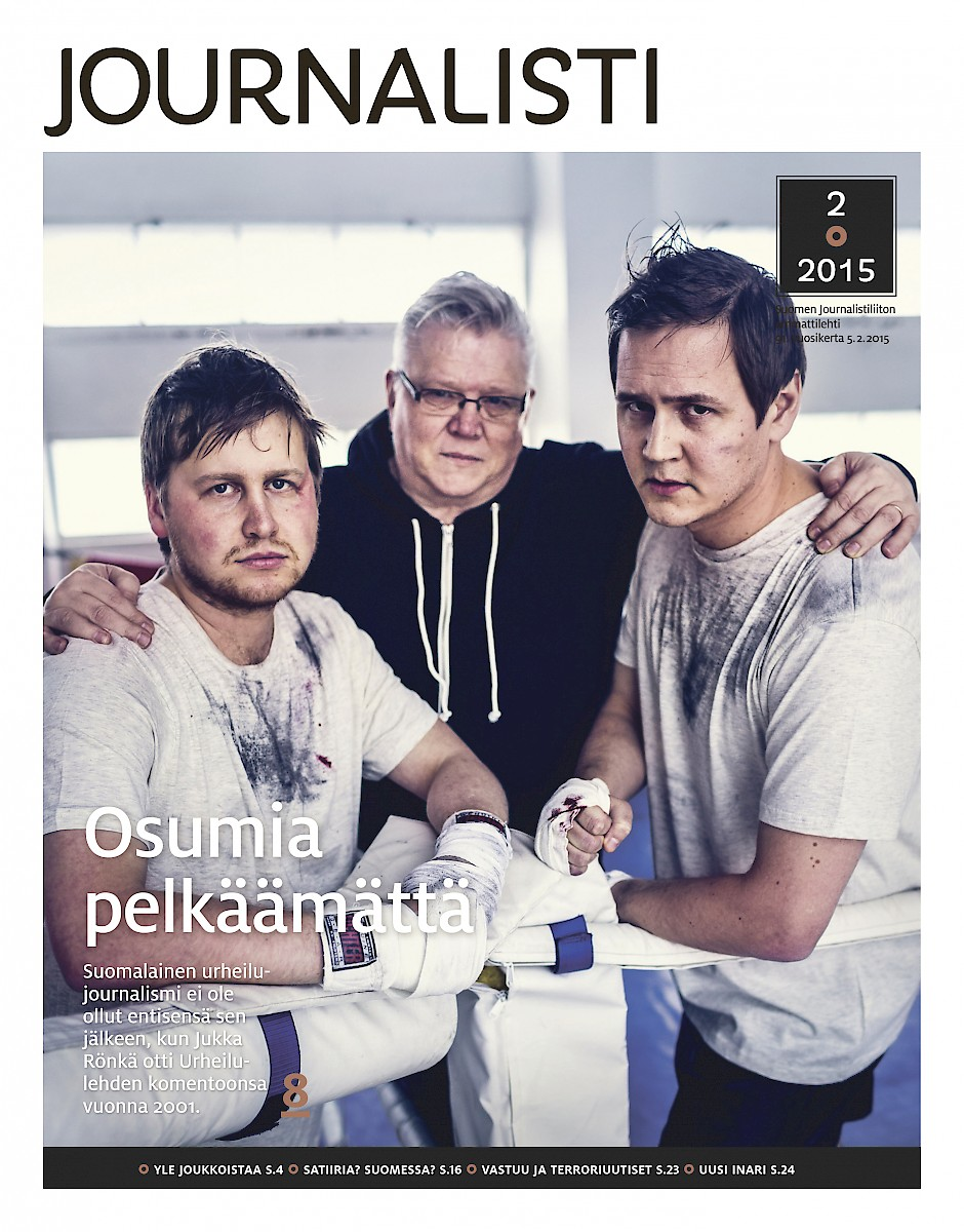 Journalisti 2/2015 kansi