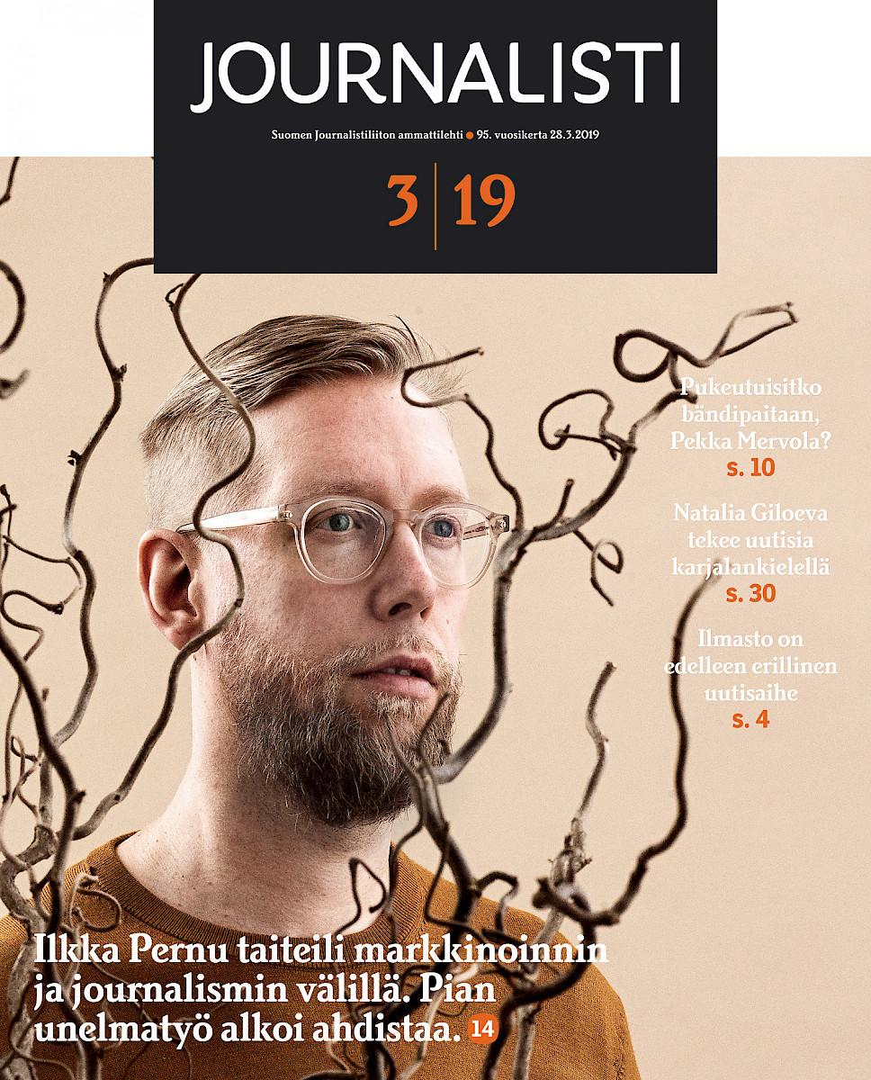 Journalisti 3/2019 kansi