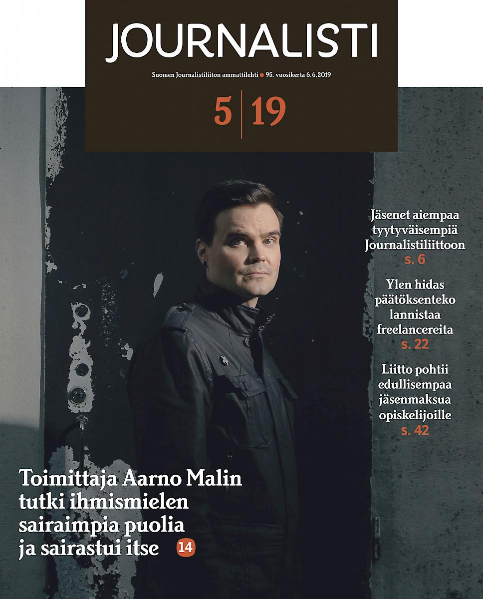 Journalisti 5/2019 kansi
