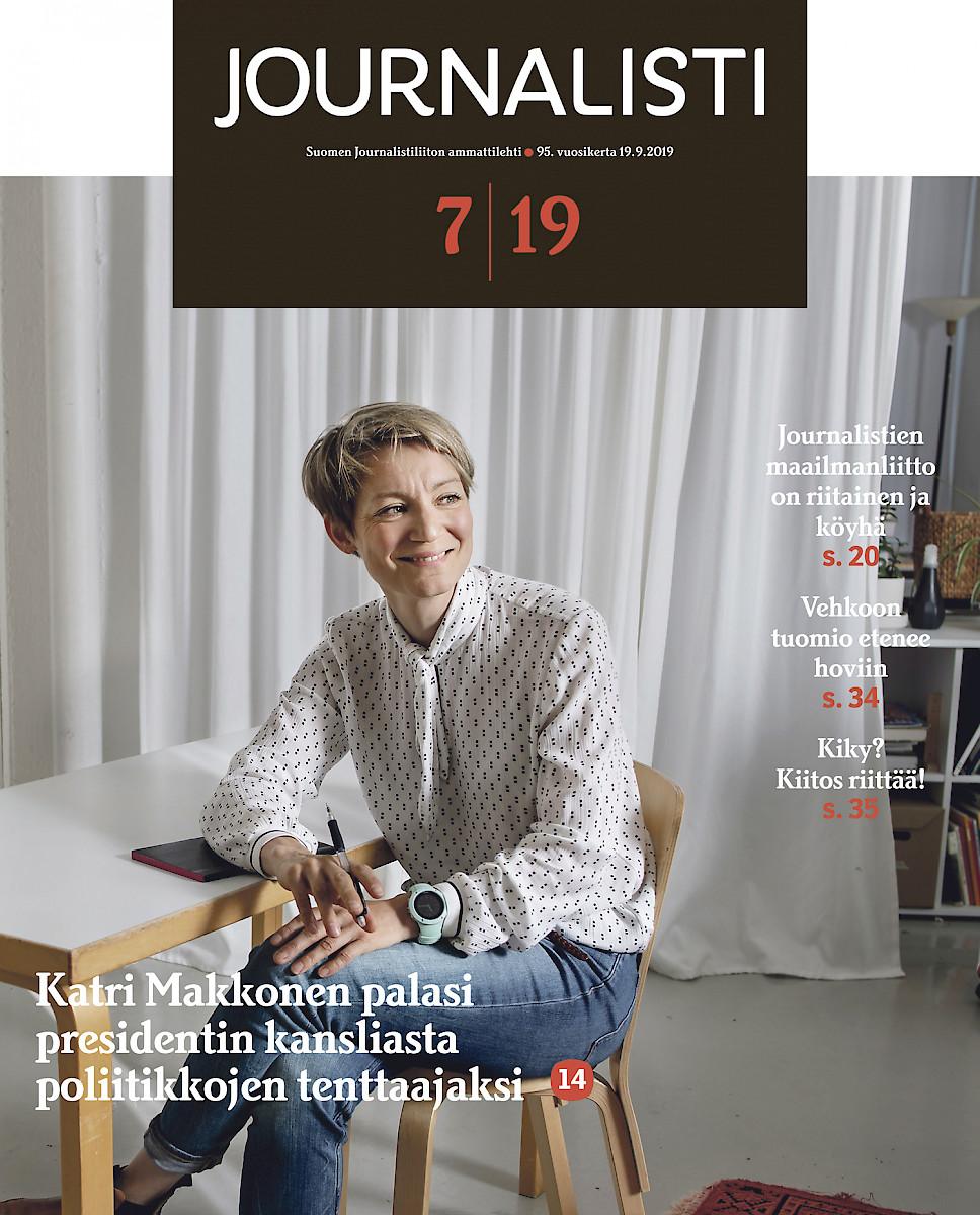 Journalisti 7/2019 kansi