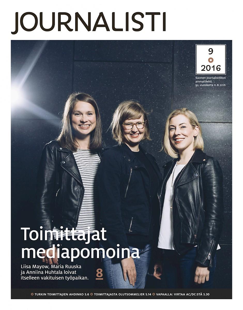 Journalistin kansi 9/2016