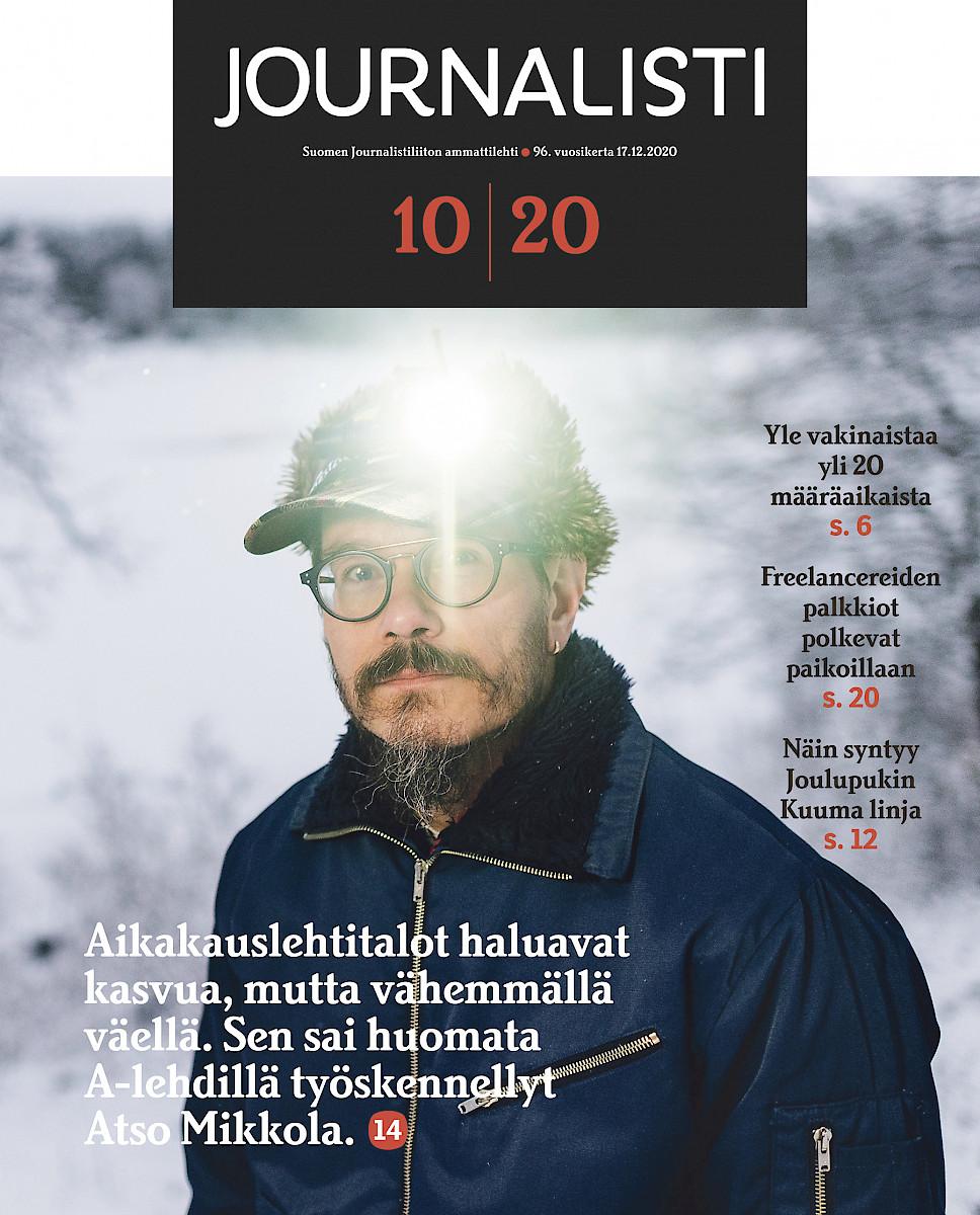 Journalisti 10/2020 kansi