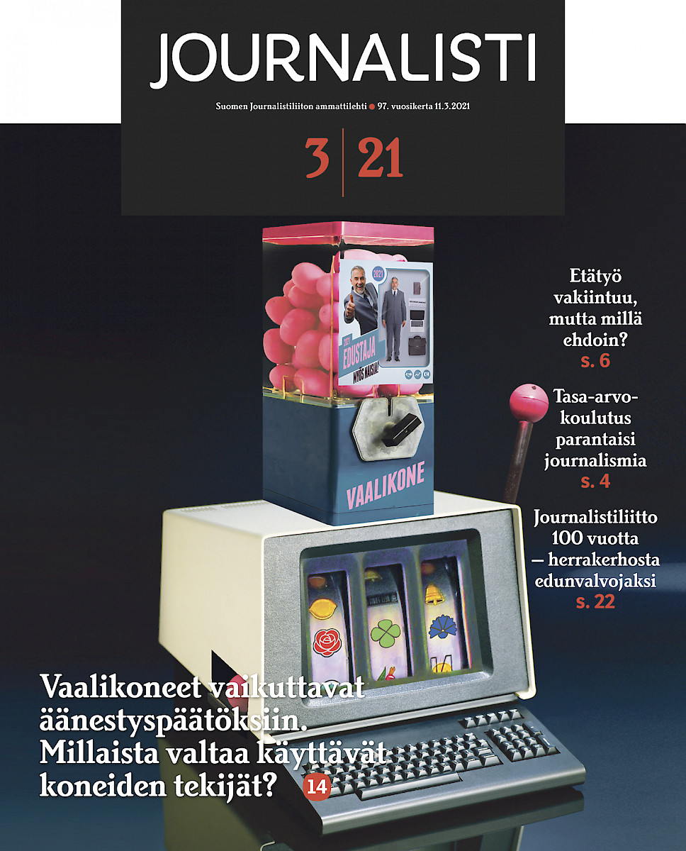 Journalisti 3/2021 kansi