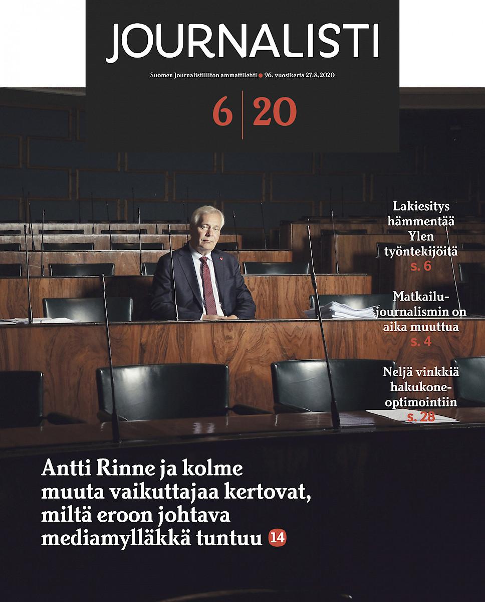 Journalisti 6/2020 kansi