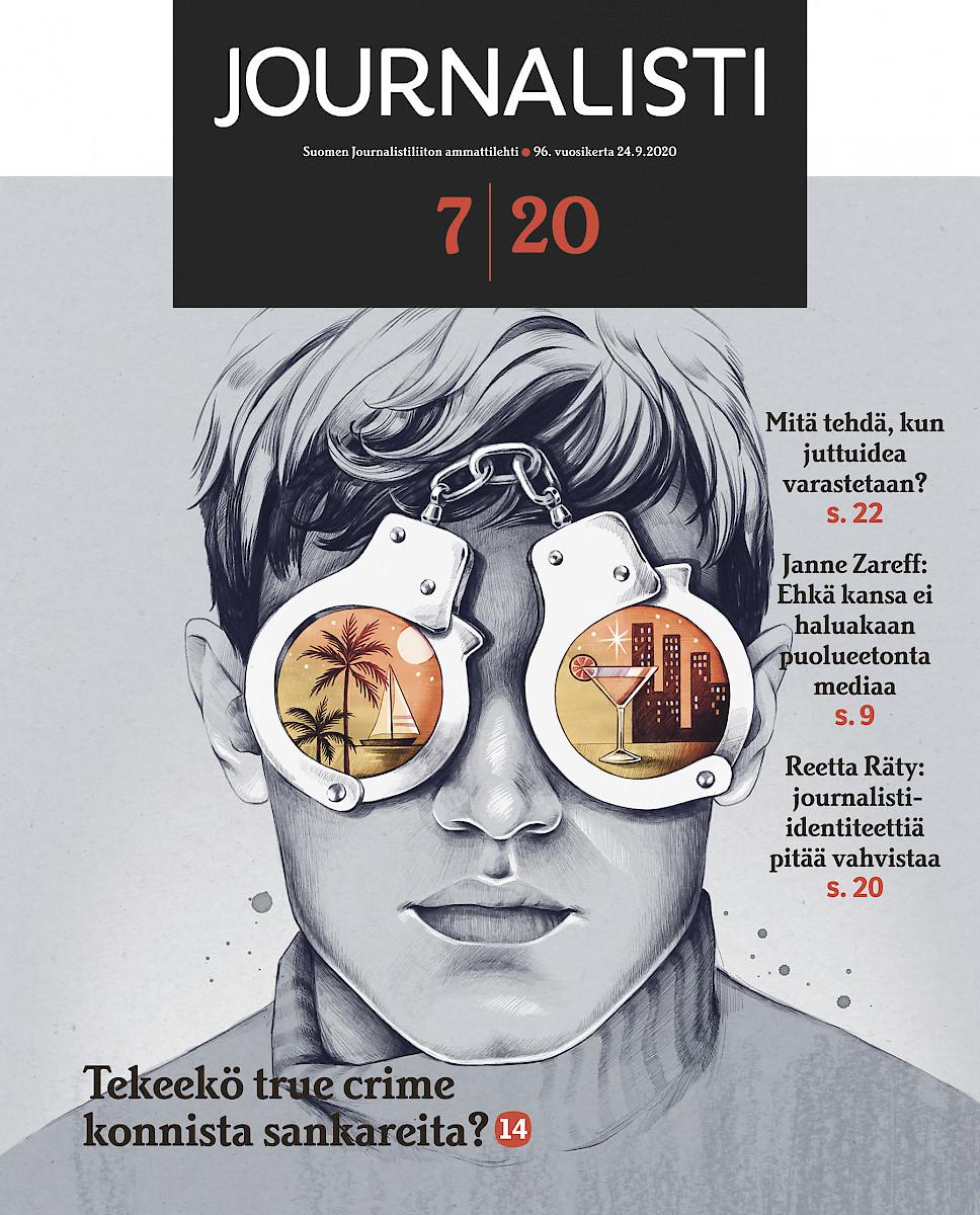 Journalisti 7/2020 kansi