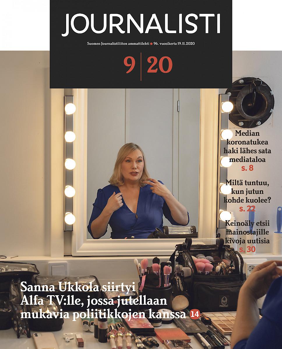 Journalisti 9/2020 kansi