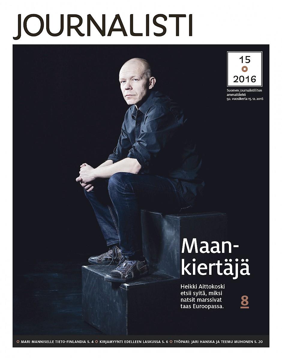 Journalistin kansi 15/2016
