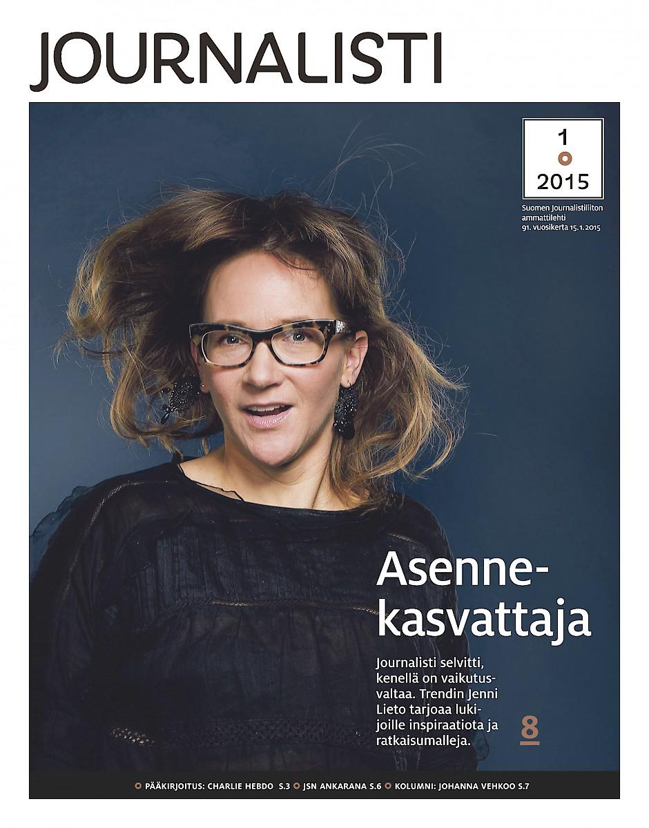 Journalisti 1/2015 kansi