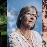 Journalisteja kolmesRoosa Sarajärvi ja Sari Gustafsson ja Inka Helenius.