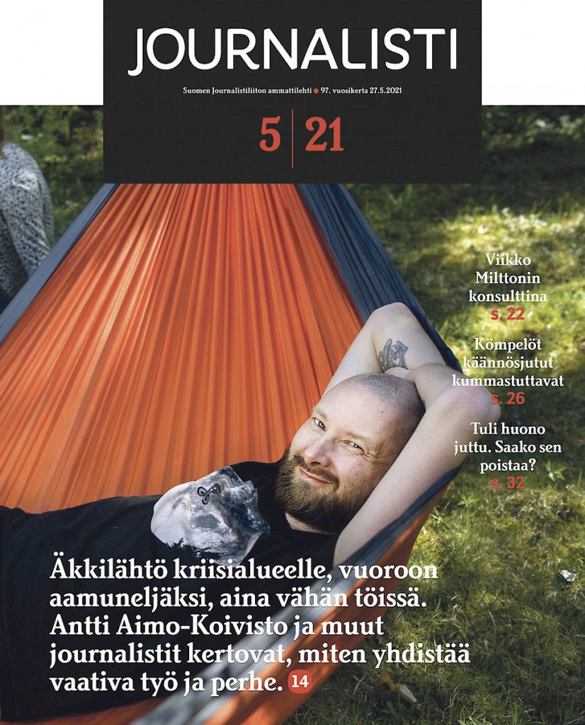 Journalisti 5/2021 kansi